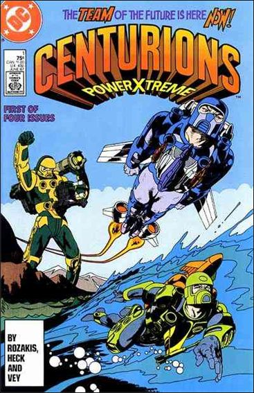 Centurions 1-A by DC