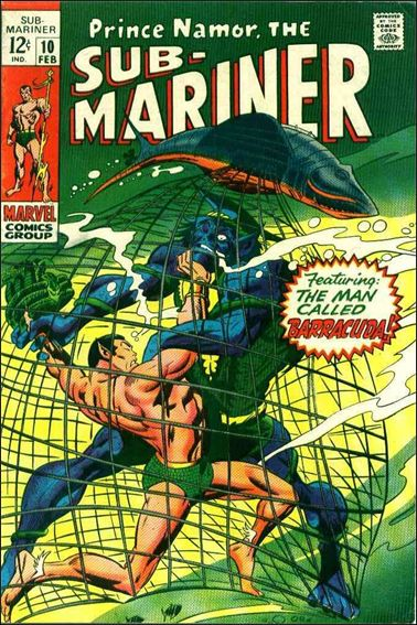 Sub-Mariner (1968) 10-A by Marvel