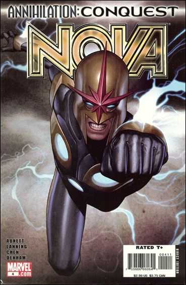 Nova (2007) 4-A by Marvel