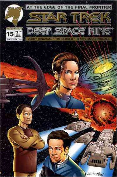 Star Trek: Deep Space Nine (1993) 15-A by Malibu