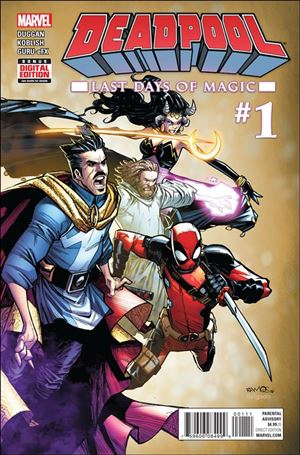Deadpool: Last Days of Magic  1-A