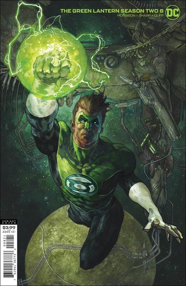Green Lantern: Season Two 8-B by DC