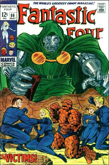 Fantastic Four (1961) 86-A by Marvel