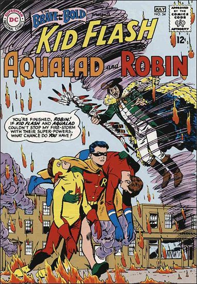 Brave and the Bold (1955) 54-A by DC