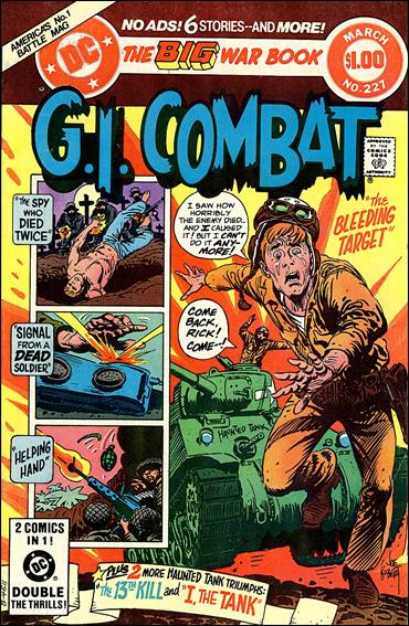 G.I. Combat (1952) 227-A by DC