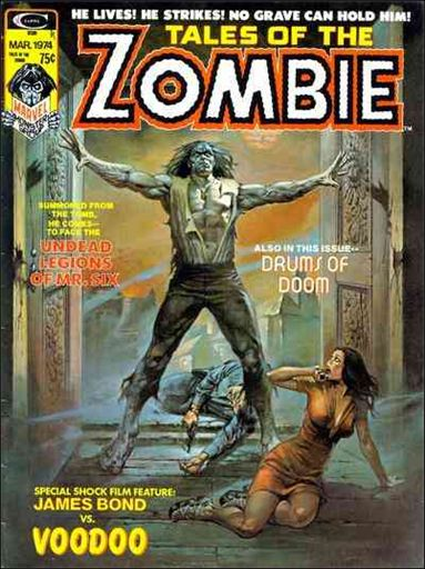 Tales of the Zombie 4-A by Marvel
