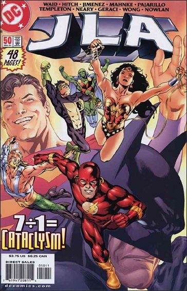 JLA 50-A by DC