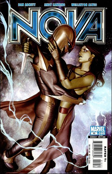 Nova (2007) 10-A by Marvel