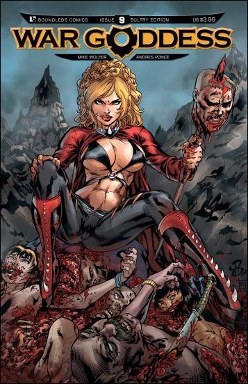 War Goddess 9-C by Boundless Comics