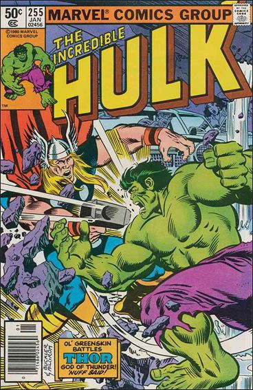 Incredible Hulk (1968) 255-A by Marvel