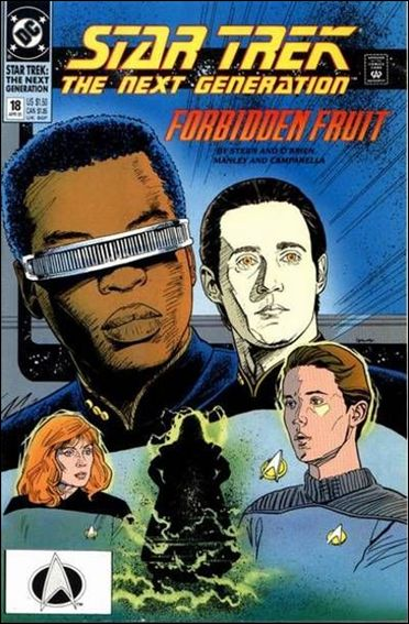 Star Trek: The Next Generation (1989) 18-A by DC