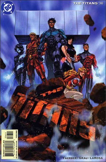 Titans (1999) 36-A by DC