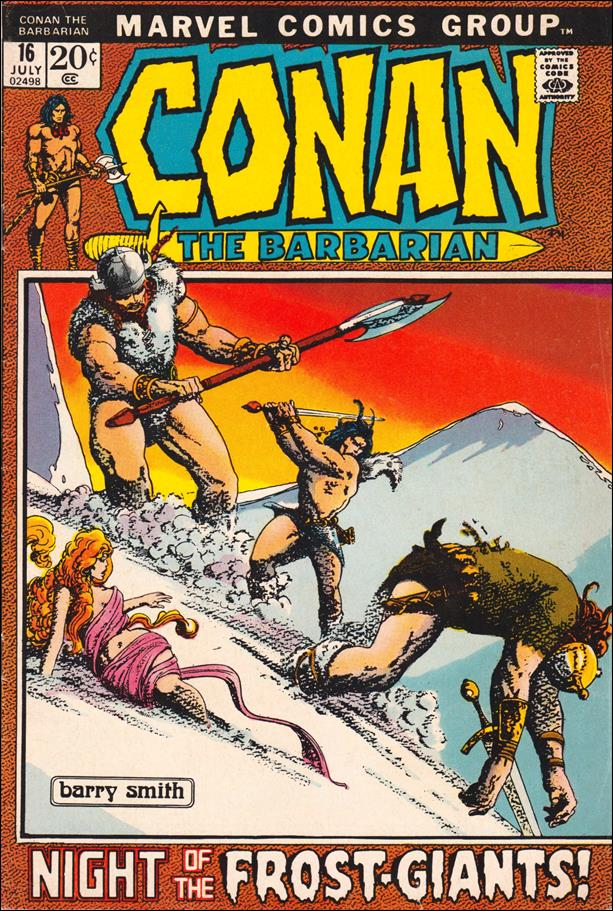 Conan the Barbarian (1970) 16-A by Marvel