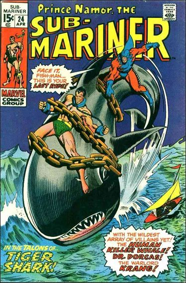 Sub-Mariner (1968) 24-A by Marvel