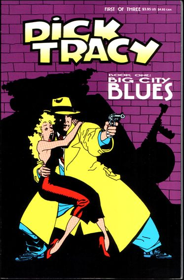 Dick Tracy (1990) 1-A by Disney