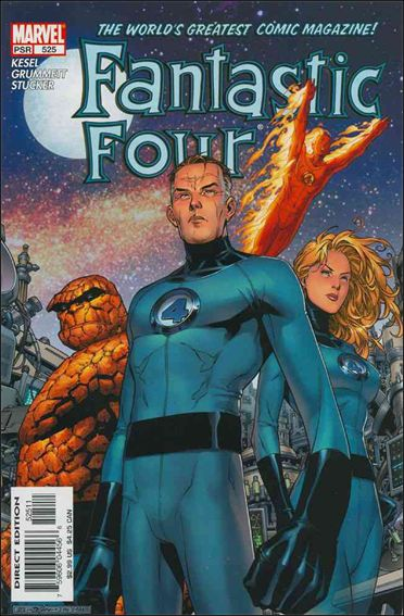 Fantastic Four (1961) 525-A by Marvel