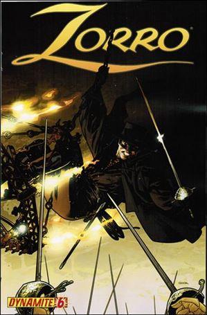 Zorro (2008) 6-B