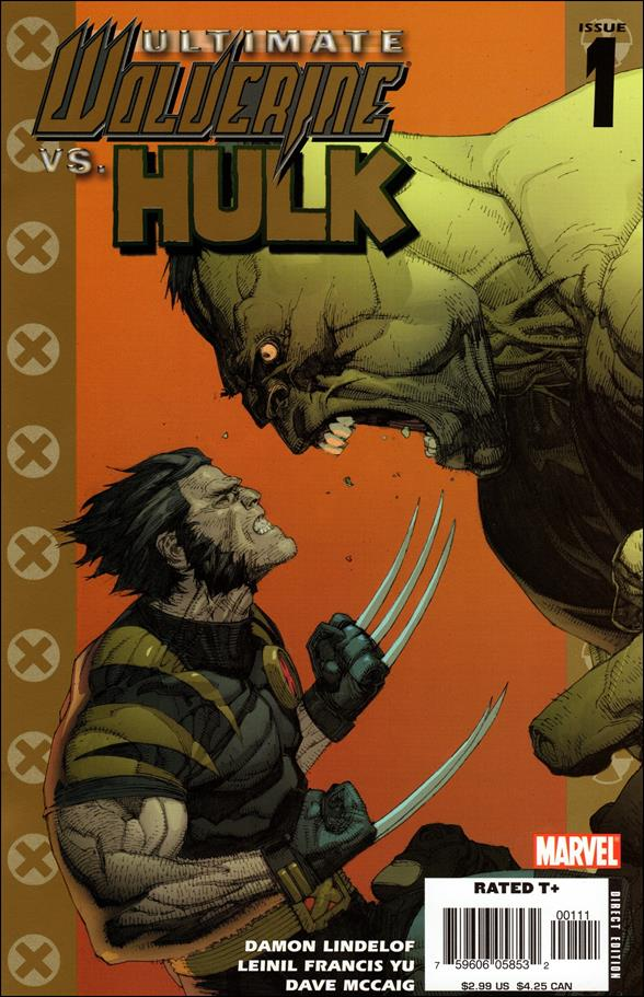 Ultimate Wolverine vs Hulk 1-A by Marvel