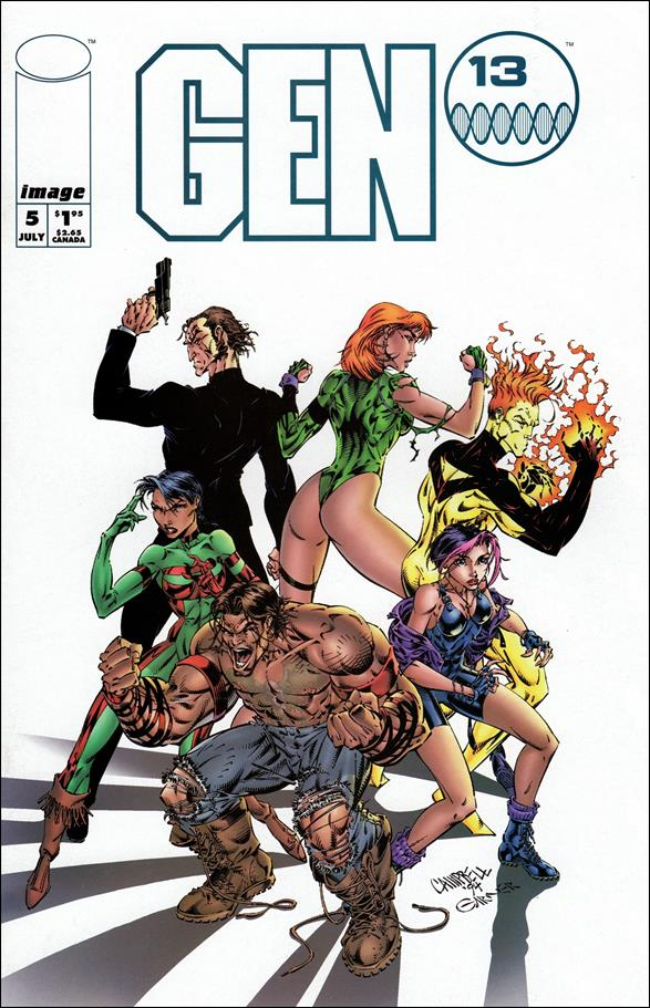 Gen13 (1994) 5-A by Image