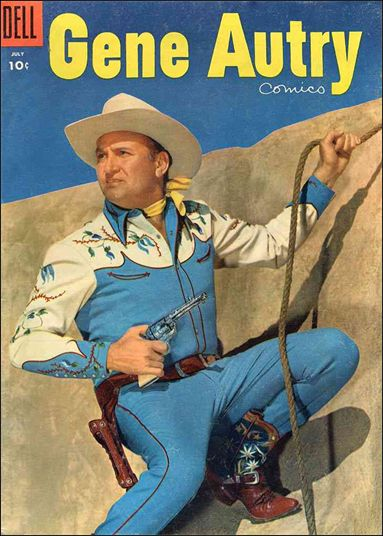 Gene Autry Comics (1946) 101-A by Dell