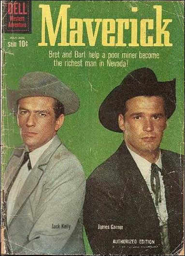 Maverick (1959) 11-A by Dell
