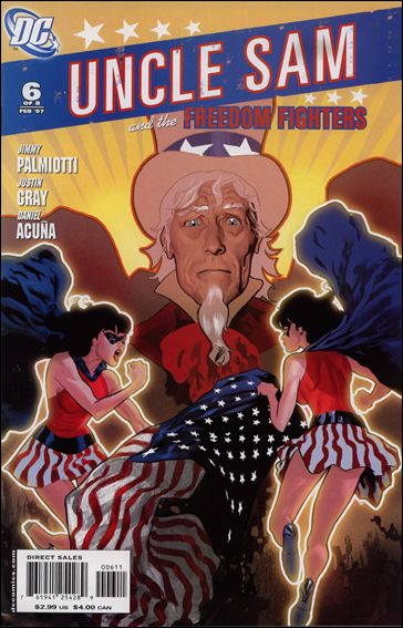 Uncle Sam and the Freedom Fighters (2006) 6-A by DC