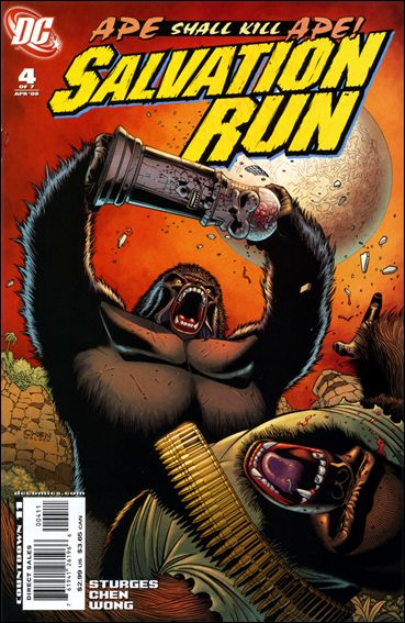 Salvation Run 4-A by DC