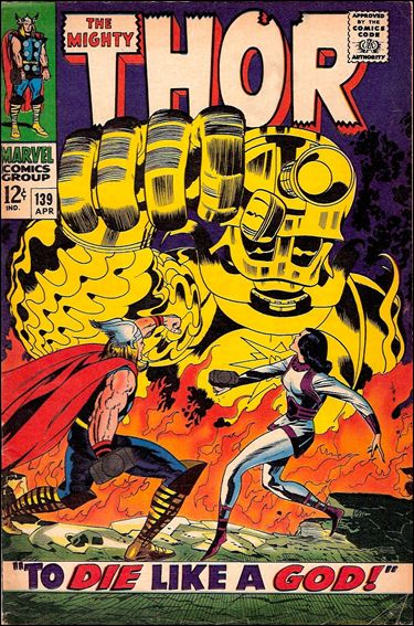 Thor (1966) 139-A by Marvel