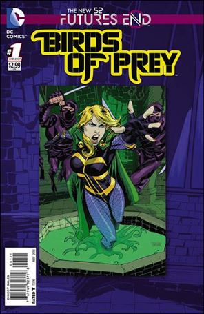 Birds of Prey: Futures End 1-B