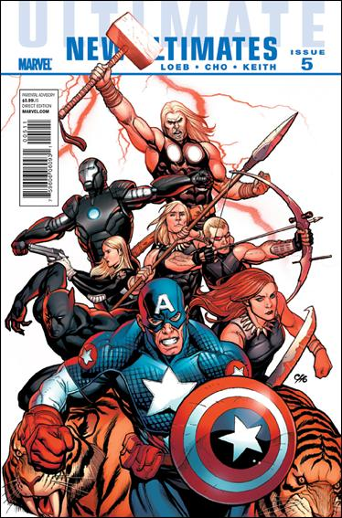 Ultimate New Ultimates 5-A by Marvel