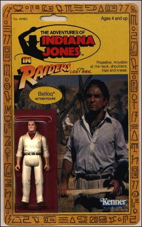 Adventures of Indiana Jones Belloq by Kenner