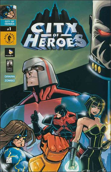 City of Heroes 1-A by Dark Horse