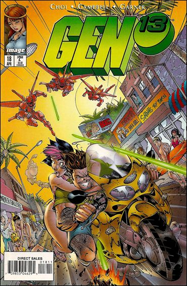 Gen13 (1995) 18-A by WildStorm