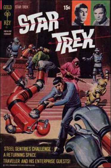 Star Trek (1967) 13-A by Gold Key