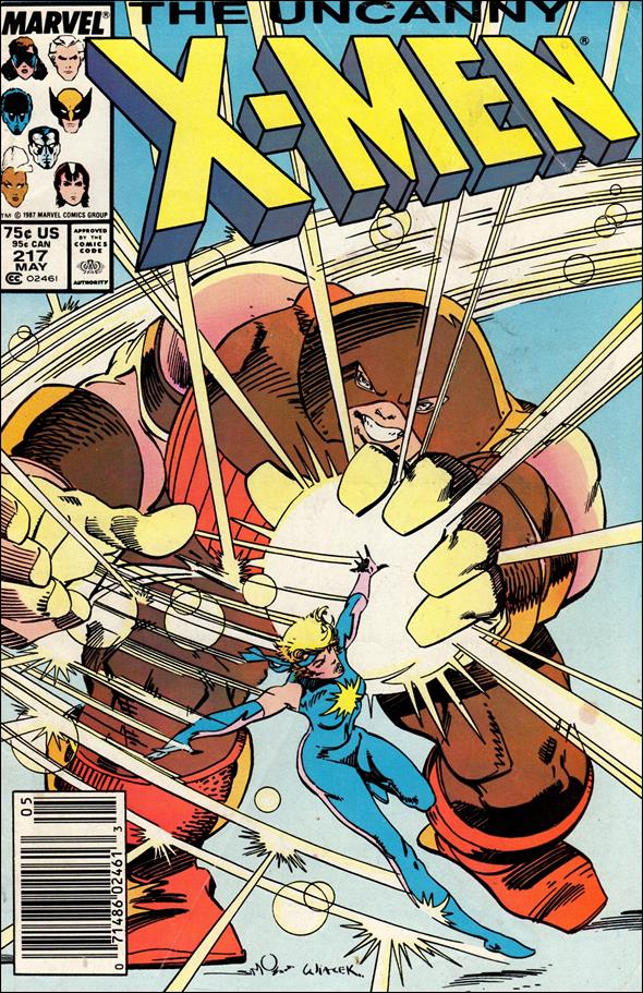 Uncanny X-Men (1981) 217-A by Marvel