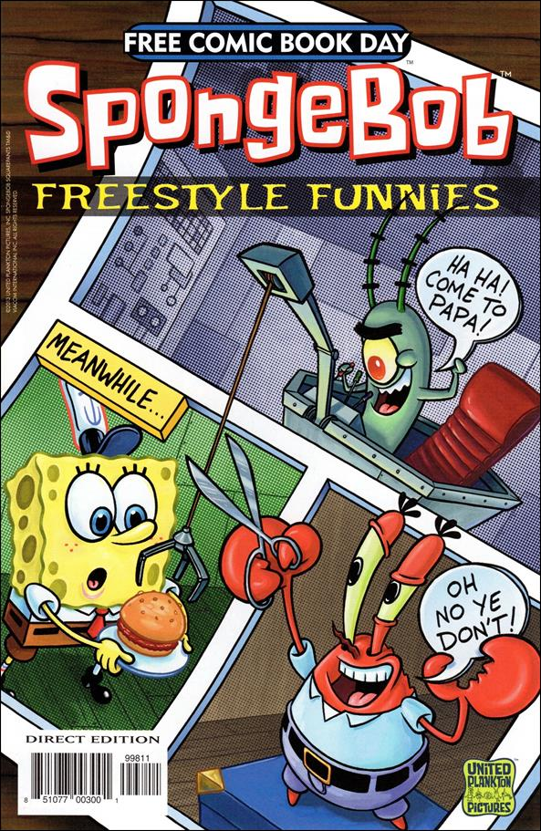 SpongeBob Freestyle Funnies 2013-A by United Plankton Pictures