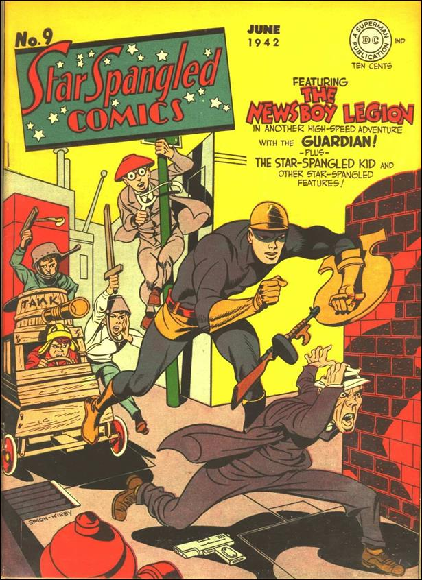 Star Spangled Comics (1941) 9-A by DC