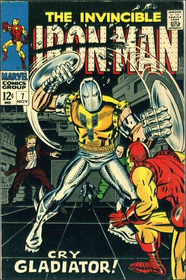 Iron Man (1968) 7-A by Marvel
