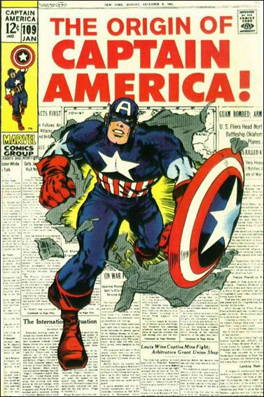 Captain America (1968) 109-A by Marvel