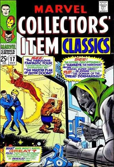 Marvel Collectors' Item Classics 17-A by Marvel