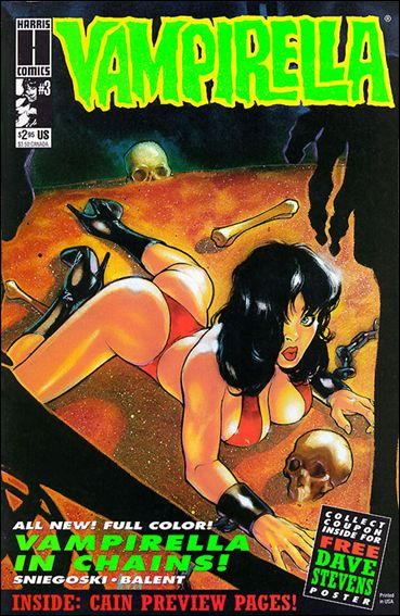 Vampirella (1992) 3-A by Harris