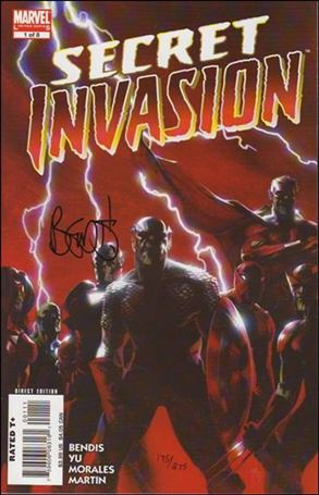 Secret Invasion 1-K
