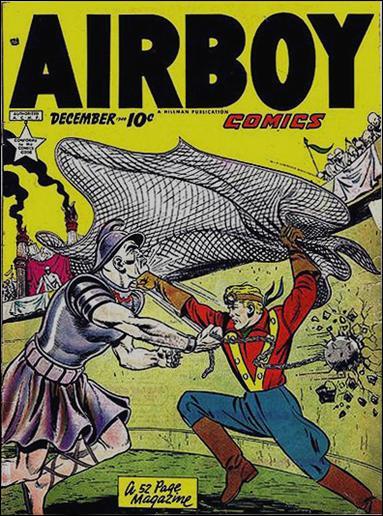 Airboy Comics (1949) 11-A by Hillman