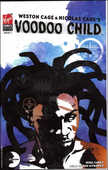 Voodoo Child 3-A by Virgin Comics