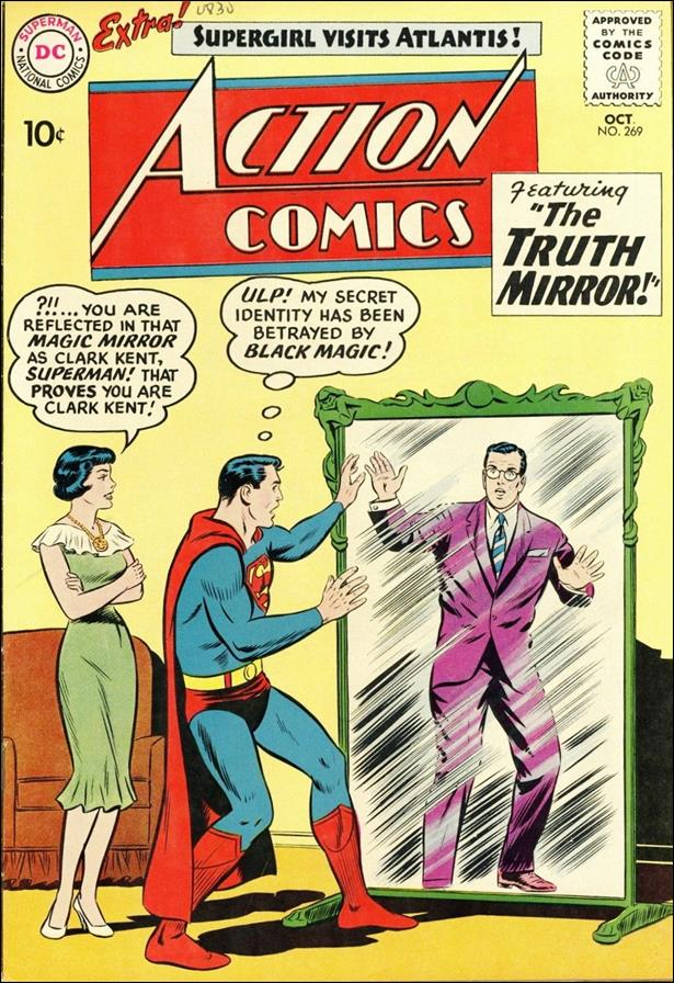 Action Comics (1938) 269-A by DC