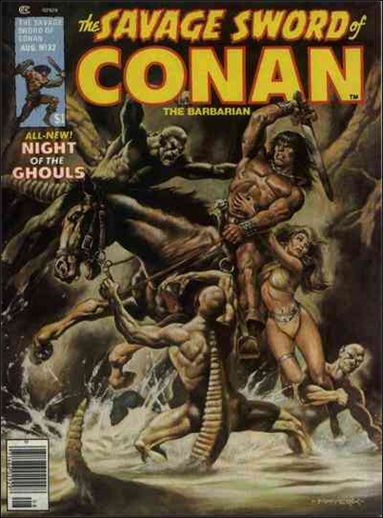 Savage Sword of Conan (1974) 32-A by Marvel