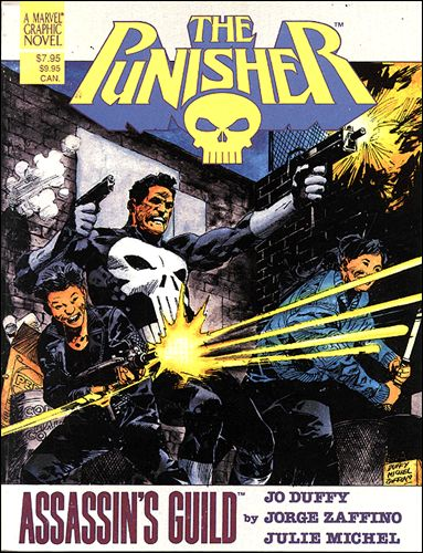 Marvel Graphic Novel: The Punisher, Assassins' Guild nn-B by Marvel