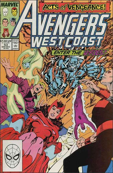 Avengers West Coast 53-A by Marvel