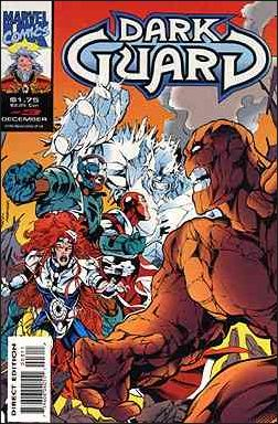 Dark Guard (UK) 3-A by Marvel UK