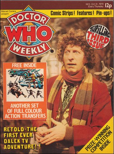 Doctor Who Weekly 3-A by Marvel UK
